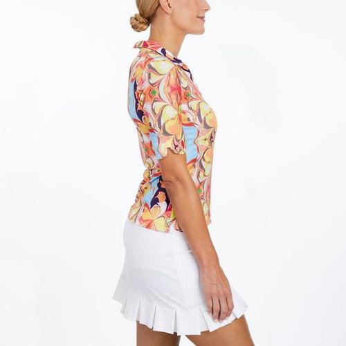 Tzu Tzu Lucy S/S Top - Illusion-Open Court
