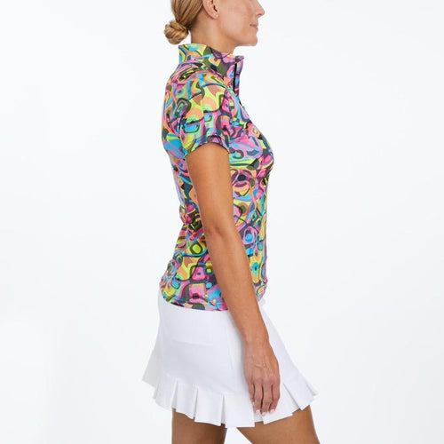 Tzu Tzu Lucy S/S Top - Picasso-Open Court