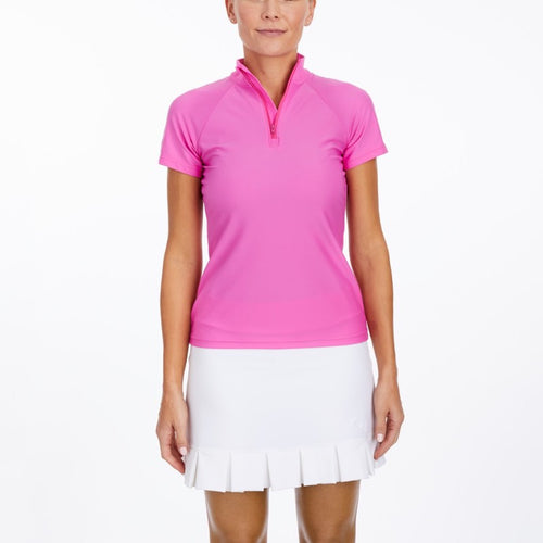 Tzu Tzu Lucy S/S Top - Pink Panther-Open Court
