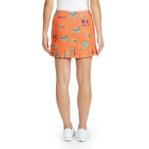 Tzu Tzu Samba Skort Orange Monkey Do-Open Court