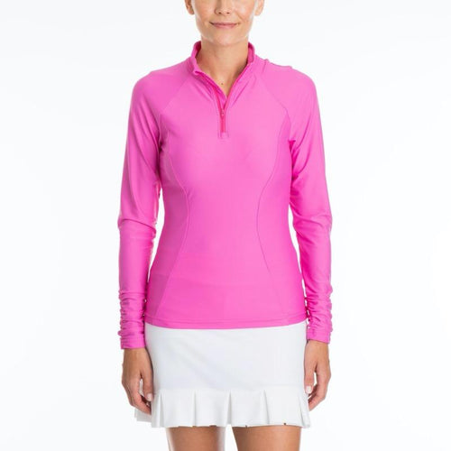 Tzu Tzu Sara L/S Top - Pink Panther-Open Court
