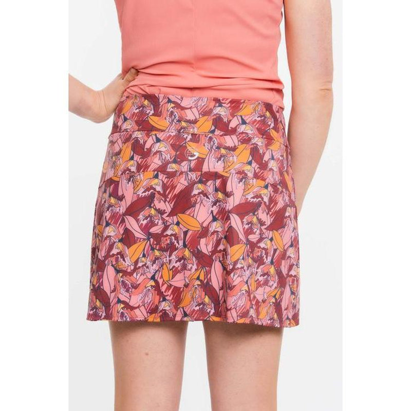 Foray Golf Birds In Paradise Front Zip Skirt-Open Court