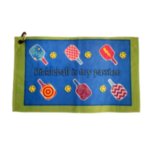Pickleball Court Towel-Open Court