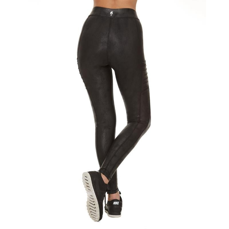 HPE Highwaist Bronze All In One Legging-Open Court