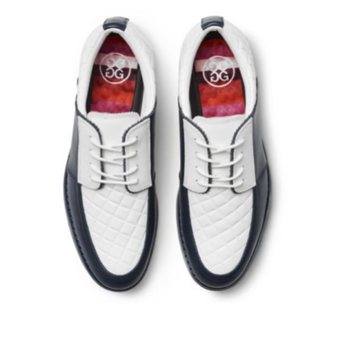G/FORE Quilted Gallivanter Golf Shoe - Twilight-Open Court