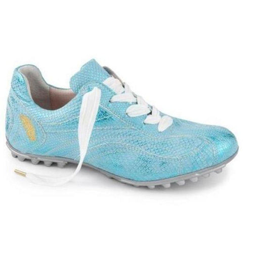 Henry & Magda Golf Shoe Rialto - Turchese (Turquoise)-Open Court