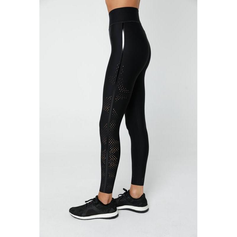 Ultracor Onduler Pix Ultra High Legging - Nero/Patent-Open Court