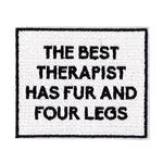 Oliver Thomas Badge - The Best Therapist Has Fur-Open Court