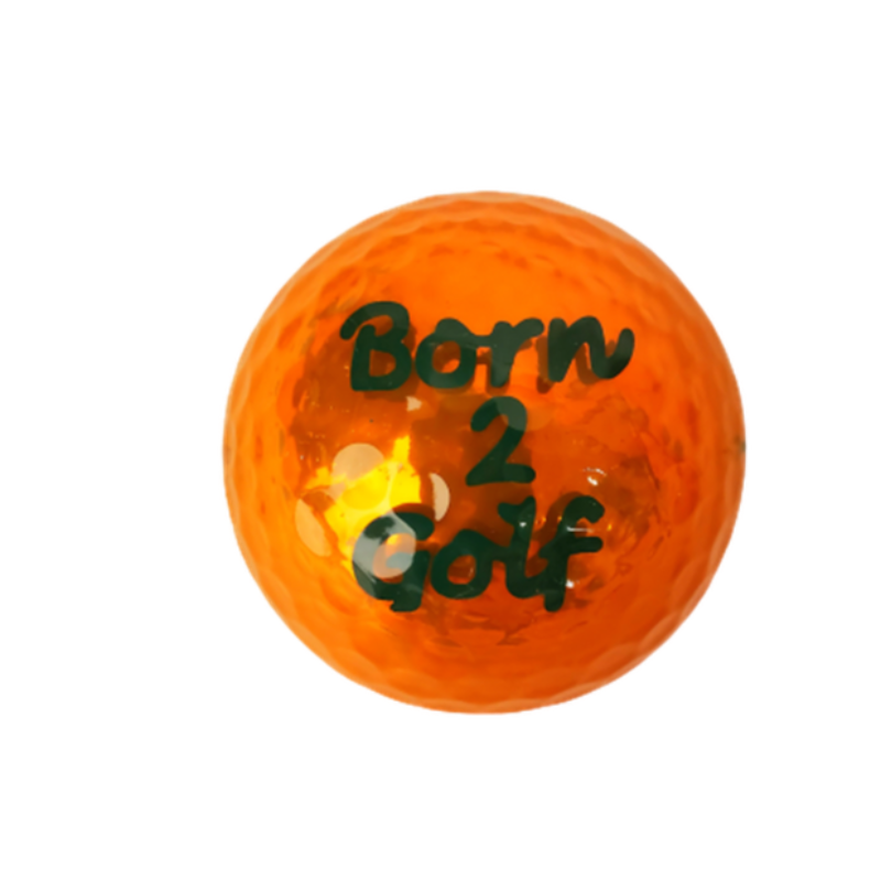 Navika Golf Ball - Born 2 Golf Orange-Open Court