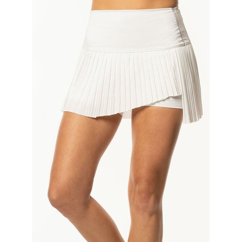 Lucky in Love Hi-Chop Pleated Skirt-Open Court