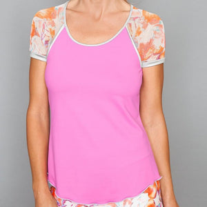 Denise Cronwall Catalina Cap-sleeve Top-Open Court