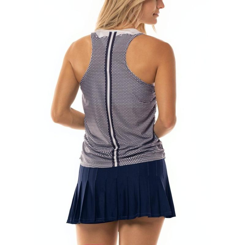 Lucky in Love Nova V Cinch Tank S/L-Open Court