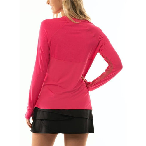 Lucky in Love High-Low L/S Top-Open Court
