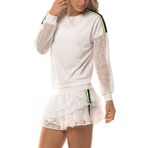 Lucky in Love In the Net Pullover L/S-Open Court