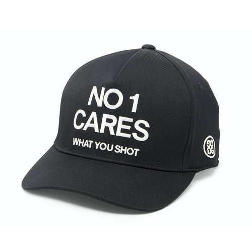 G/FORE No 1 Cares Snapback Hat - Onyx-Open Court