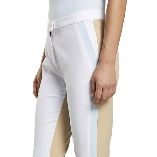 G/FORE Colour Block Trouser - Snow/Stone-Open Court