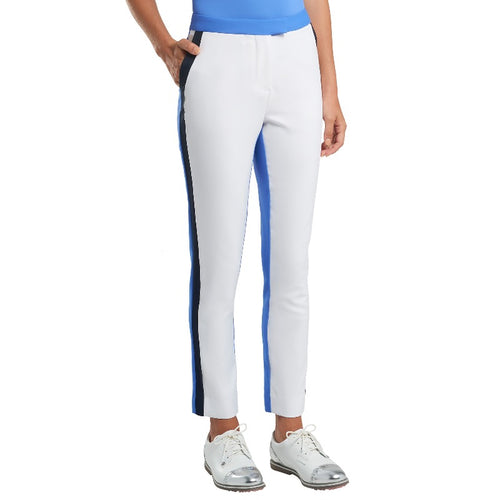 G/FORE Colour Block Trouser - Snow/Adriatic-Open Court