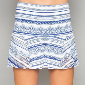 Denise Cronwall Nordica Grace Print Skort-Open Court