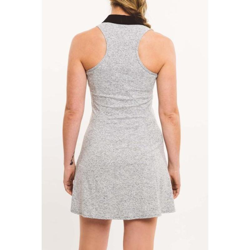 Foray Golf Core Solid Dress Grey/Black Marl-Open Court