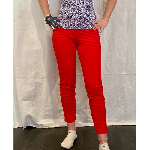 Chervò Sew Pant - Red-Open Court