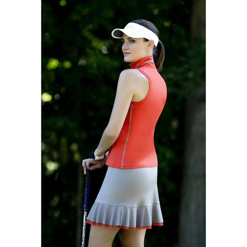 inPhorm Rebecca Sleeveless Half Zip-Open Court