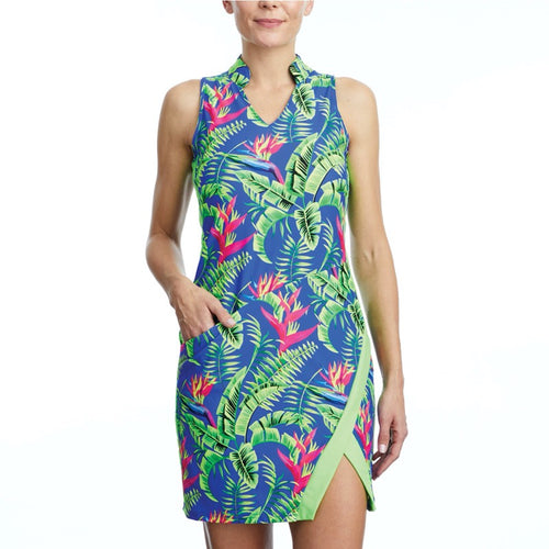 Tzu Tzu Kaia Dress - Eden/Sour Apple-Open Court