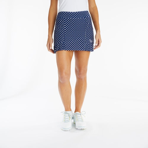 Tzu Tzu Kenley Skort - Navy Dotty-Open Court