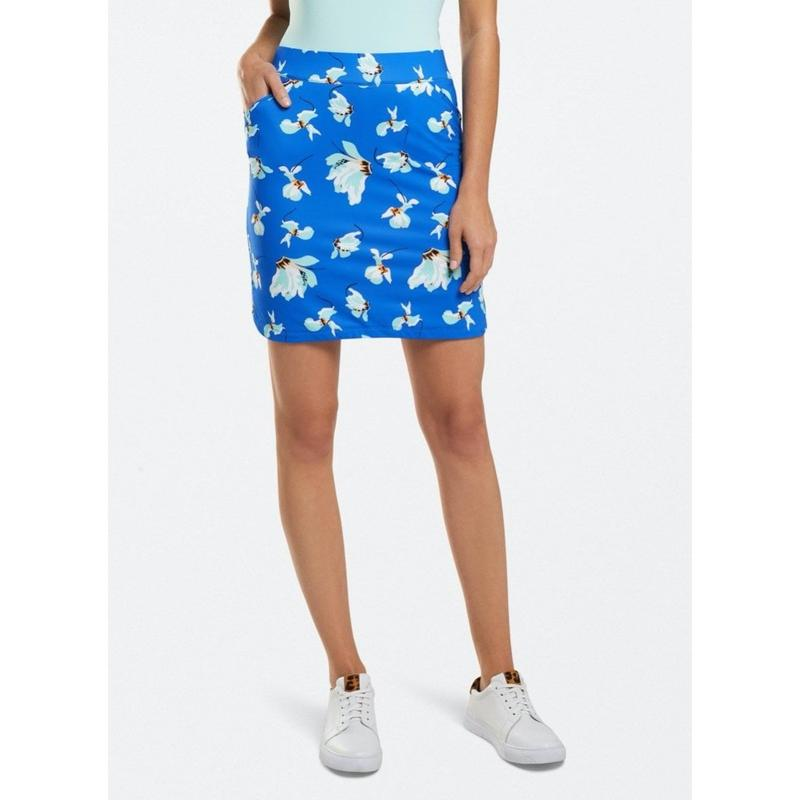 Peter Millar Cattley Floral Petal Hem Skort-Open Court