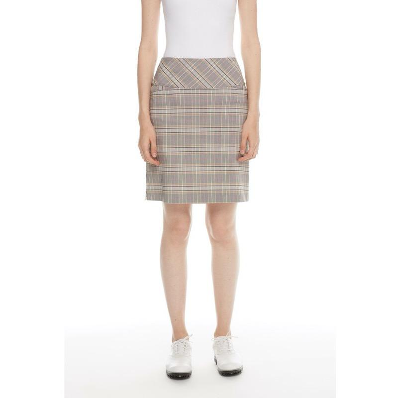 "Swing Control 20"" Skort - Norway check Bottoms - Open Court"