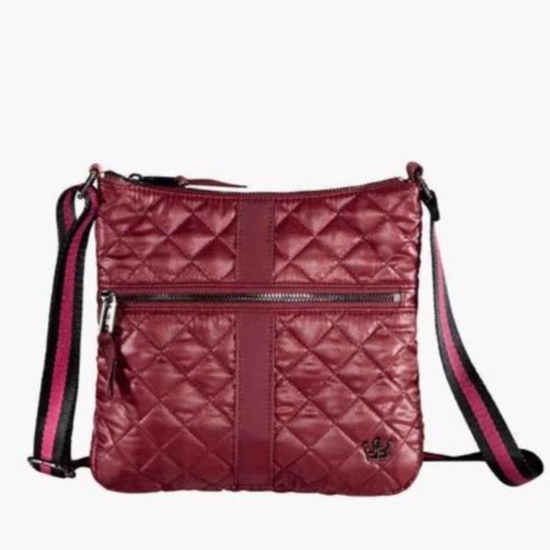 Oliver Thomas Kitchen Sink Crossbody - Bordeaux-Open Court