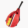 Oliver Thomas Tennis Sling - Red/ Black Stripe-Open Court