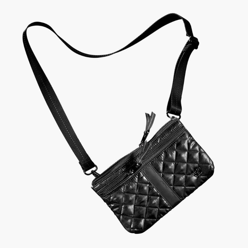 Oliver Thomas Fourplay Pouch - Black-Open Court