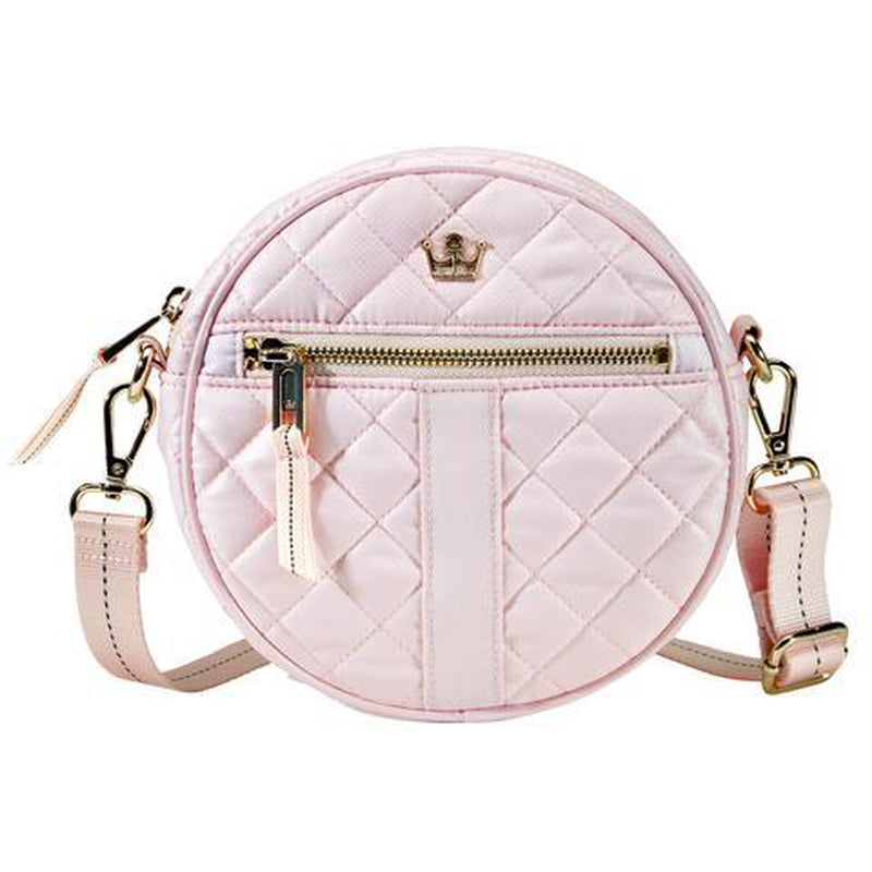 Oliver Thomas Round Bag - Petal Pink-Open Court