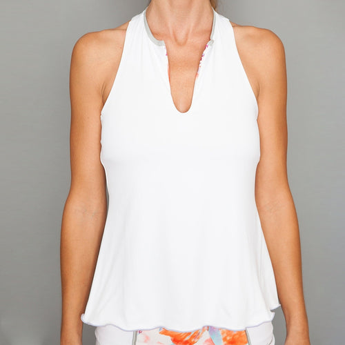 Denise Cronwall Catalina Racer-back Top Tops - Open Court