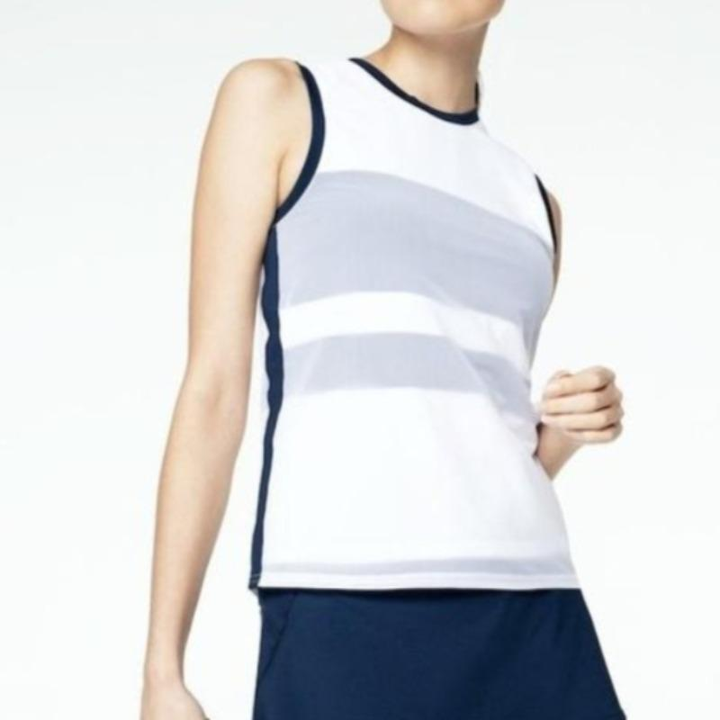 inPhorm Jacqueline S/L Colour Blocked Tank-Open Court