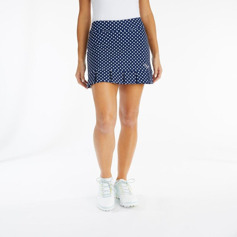 Tzu Tzu Samba Skort - Navy Dotty Bottoms - Open Court