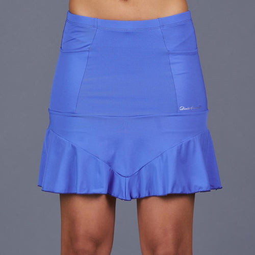 Denise Cronwall Marble Betsy Long Skort-Blue-Open Court