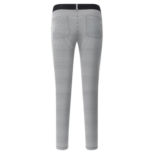 Chervò Stellato Pant - Black/White-Open Court