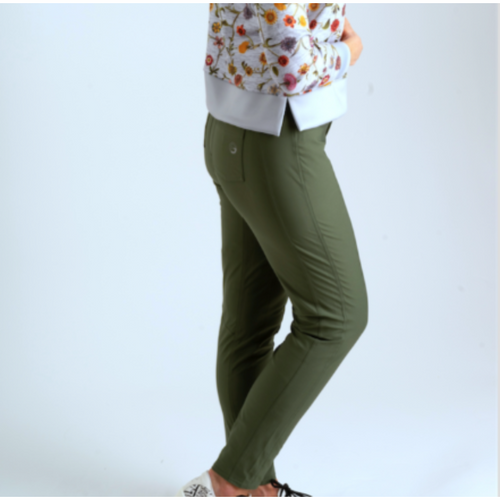 Foray Golf Performance Pant - Thyme-Open Court