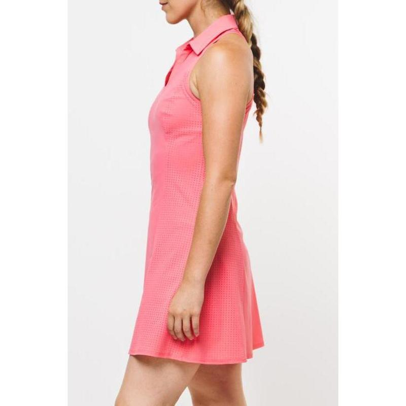 Foray Golf Core Perforated Dress Flamingo-Open Court