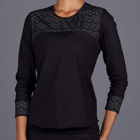Denise Cronwall All Season Long Sleeve Top-Open Court