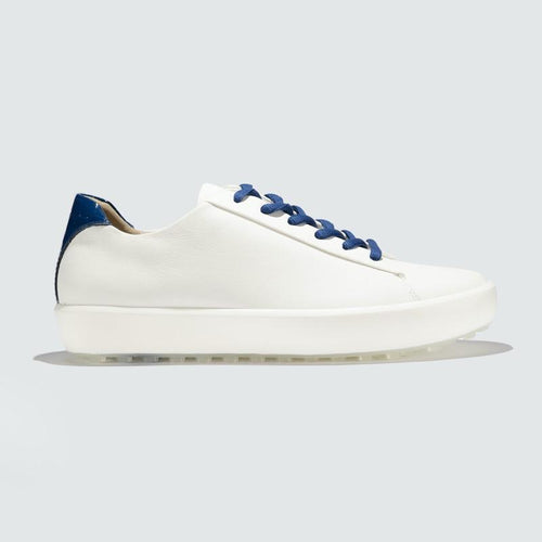 Pakira Diva Dundee Golf Shoe - White / Ocean-Open Court