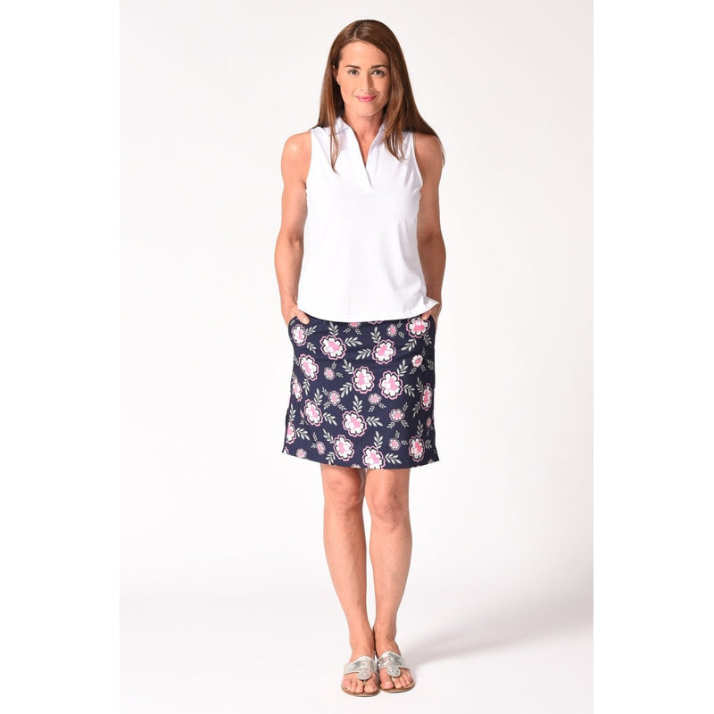"Golftini Go Fish 17.5"" skort-Open Court"