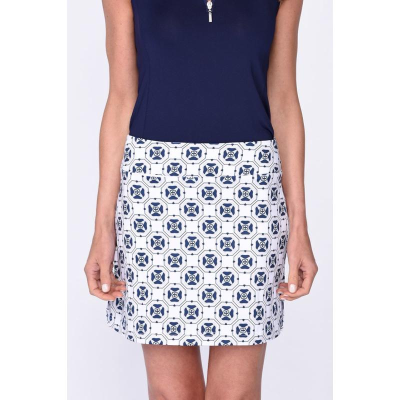 Golftini Circle of Love Pull On Tech Skort-Open Court