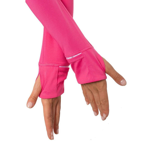 Golftini Tech Jacket - Hot Pink-Open Court