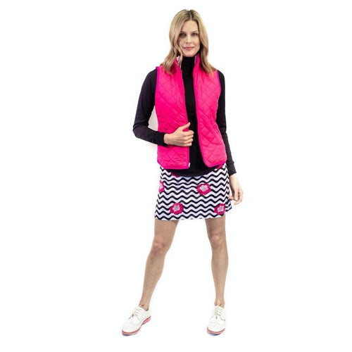 Golftini Mai Tai Pull On Skort-Open Court