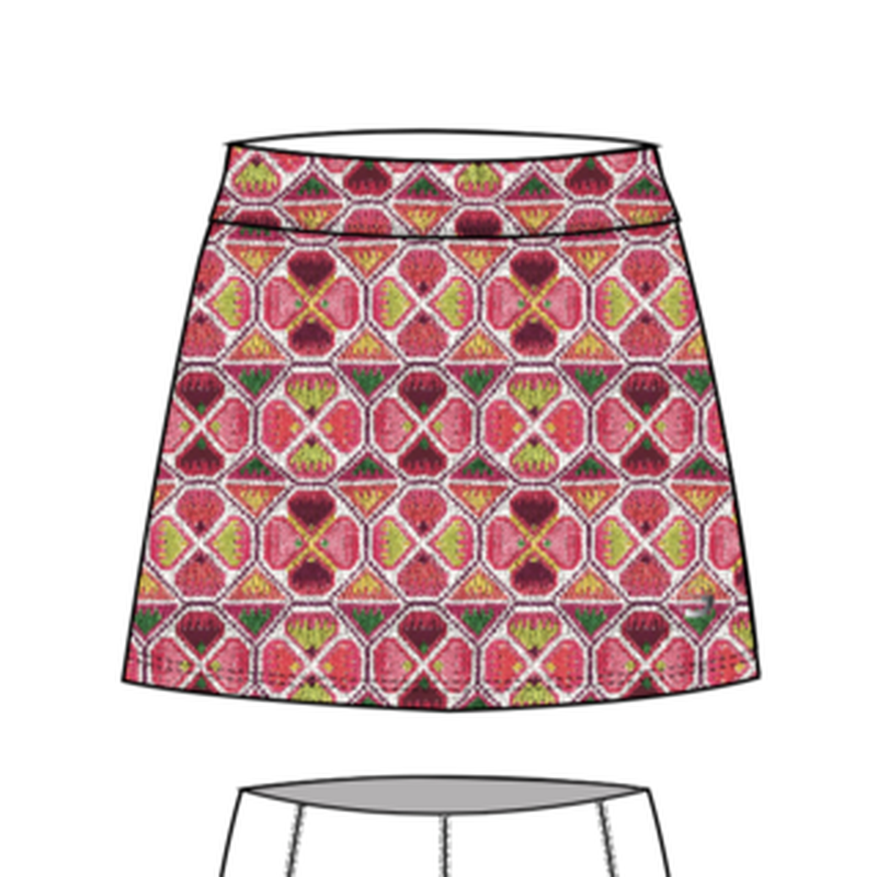Foray Geo Stitch Skirt - Tall Bottoms - Open Court