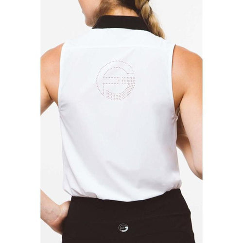 Foray Golf Core 2.0 S/L Polo - White/Blk Tops - Open Court