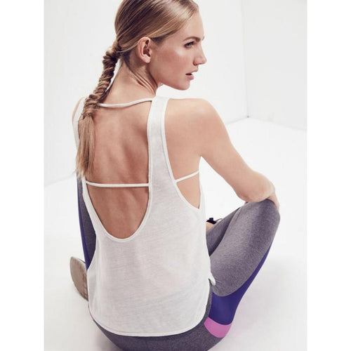 Lanston Scoop Muscle Tank-Open Court