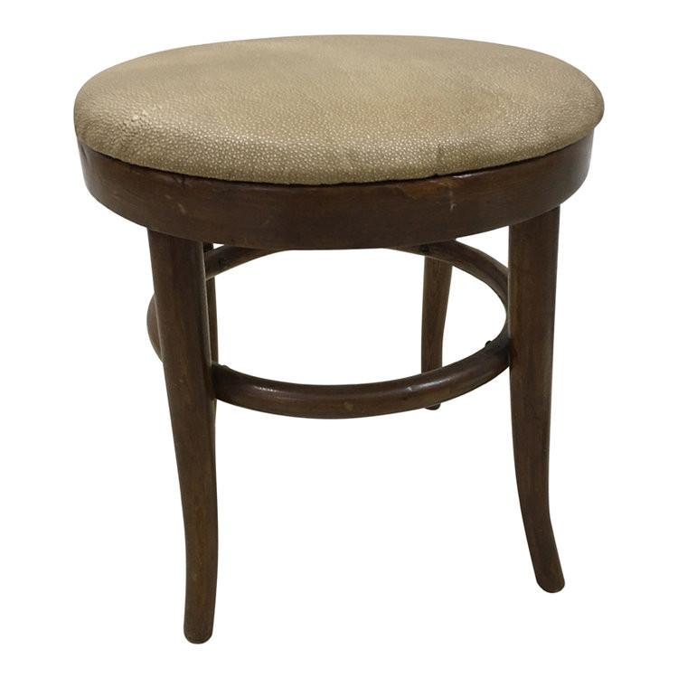 Thonet Style Stool otto/bench Miller Upholstering
